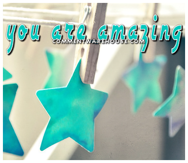 http://www.commentwarehouse.com/gallery3/var/albums/Friendship-Graphics/you_are_amazing_hanging_stars.png?m=1388620134