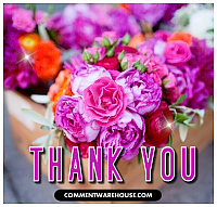 thank you flowers dkfjo9e759