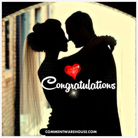 Congratulations Wedding Engagement
