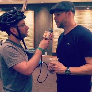 Donnie Wahlberg Fed Poutine To A Toronto Radio Producer And It Was Super Awkward