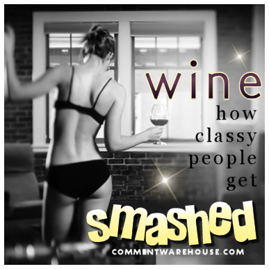 Wine. How classy people get smashed | Funny graphics