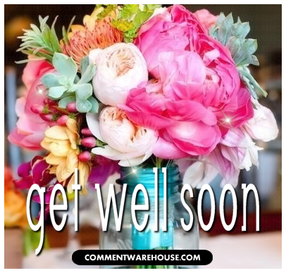 Get Well Soon Flower Bouquet | Get Well Graphic