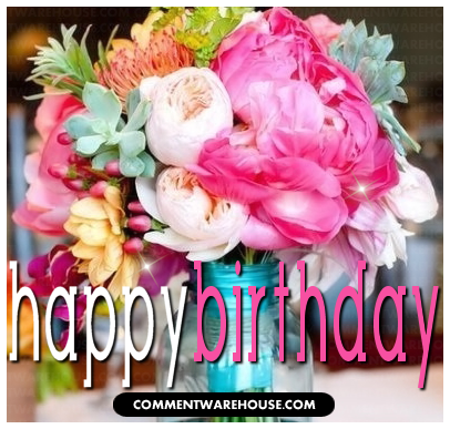 happy birthday beautiful flowers  comments, pics, image quotes, Beautiful flower