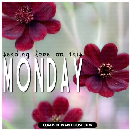 Sending love on this beautiful Monday | Monday Graphic