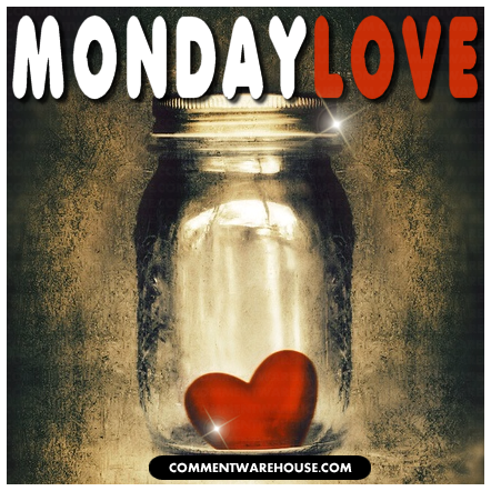 Monday Love red heart | Monday graphic