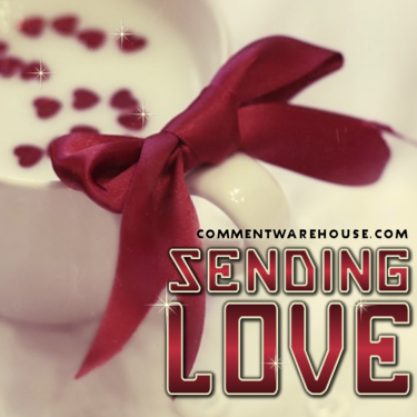Sending Love | Love Graphic
