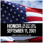 9/11 Honor the Lives Lost