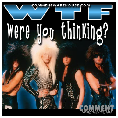 WTF Were You Thinking | Funny Graphics