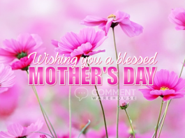 Wishing you a blessed Mother's Day | Mothers Day Comments & Graphics