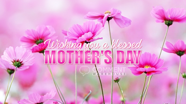 Wishing you a blessed Mothers Day | Mother's Day Graphics | Mothers Day Graphics | Seasonal Graphics | Special Occasion Graphics