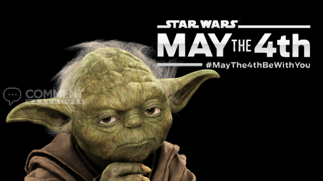 May the fourth be with you Yoda - Star Wars | Seasonal Graphics #MayJTheFourthBeWithYou ##MayThe4thBeWithYou