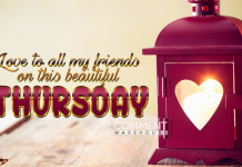 Love to all my friends on this beautiful Thursday | Thursday Graphics