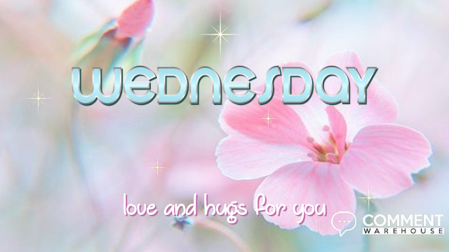 Wednesday Love and Hugs for You | Wednesday Graphics | Days of the Week Images