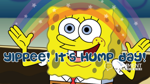 Yippee its Hump Day | Spongebob | Wednesday Graphics