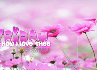 Friday Oh How I Love Thee | Friday Graphics