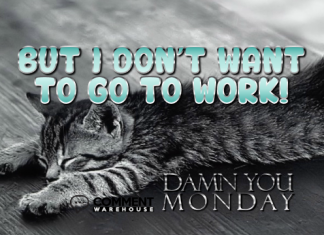 But I do not want to go to work Damn you Monday | Monday Comments |