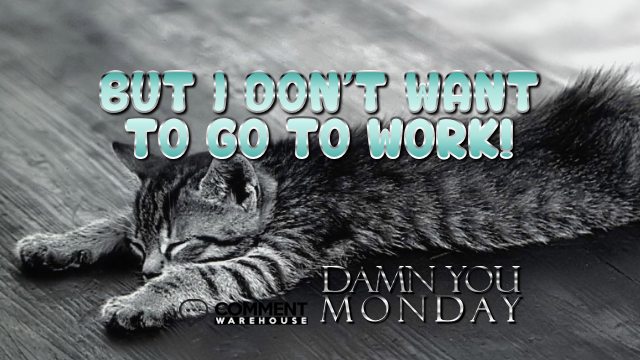 But I do not want to go to work Damn you Monday | Monday Comments