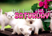 Saturday Good Friends Good Times | Saturday Comments Graphics