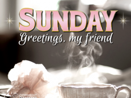 Sunday Greetings my Friend | Sunday Comments & Graphics
