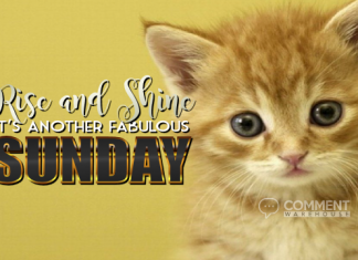 Rise and Shine It Is Another Fabulous Sunday | Sunday Graphics | Sunday Comments