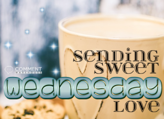 Sending Sweet Wednesday Love - Wednesday Comments