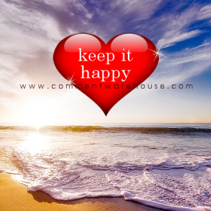Keep it happy | Quote Graphics