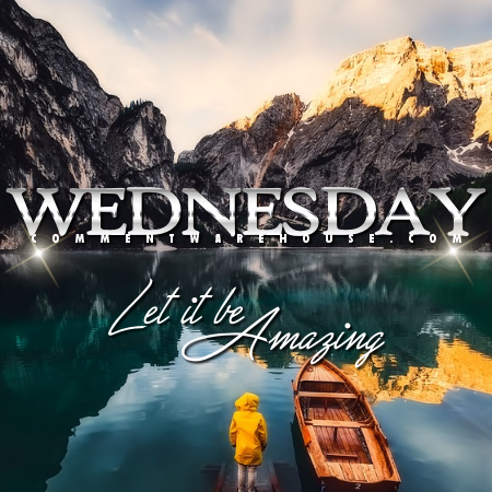 Wednesday Let It Be Amazing | Wednesday Comments and Graphics