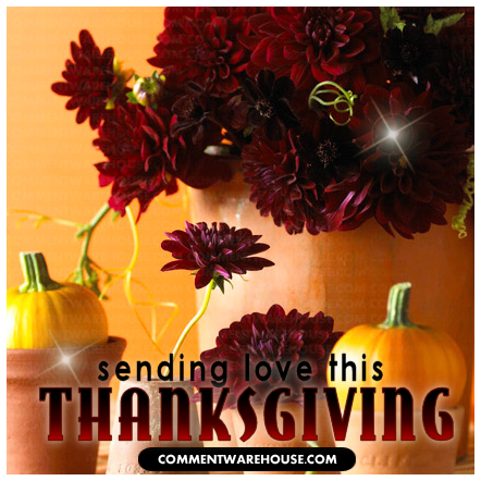Sending love this Thanksgiving