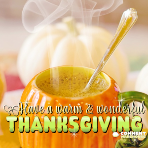 Have a Warm and Wonderful Thanksgiving