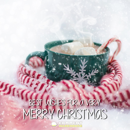 Best wishes for a very Merry Christmas