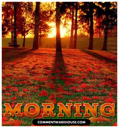 Morning Greeting Graphic | Commentwarehouse.com