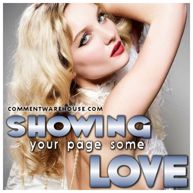 Showing Your Page Some Love | Love Graphic