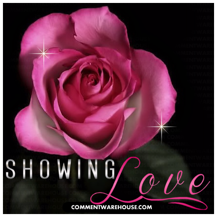 Showing love pink rose | love Graphic