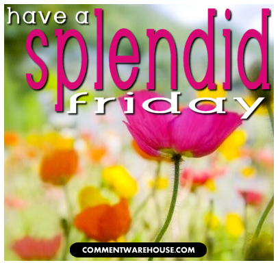 Have a splendid Friday! | Happy Friday Images & Greetings