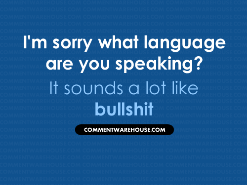 What Language Are You Speaking