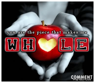 You are the piece that makes me whole | Flirty Graphic