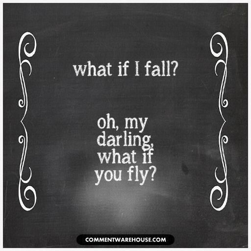 What If I Fall Oh My Darling What If