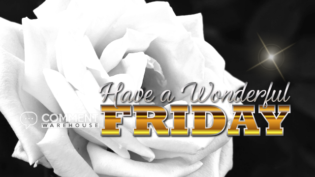 Have a wonderful Friday | Friday Graphics | Days of the Week Comments