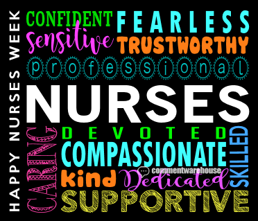 Happy Nurses Week | Seasonal Graphics | Nurse Graphics | May Graphics