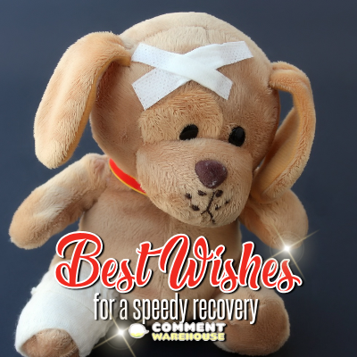 Best wishes for a speedy recovery | Get well soon messages and graphics