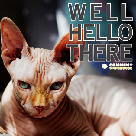 Well, hello there. | Hello Graphics, Images, Greetings