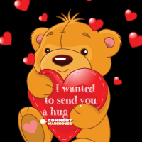 I wanted to send you a hug | Cute hug graphics, comments, images, pics, and quotes.
