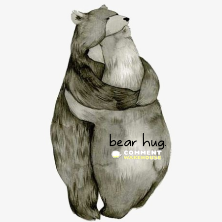 Bear hug | Hug graphics, pics, images, greetings