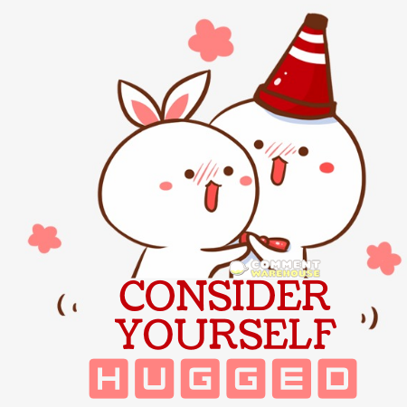 Consider yourself hugged | Hug pics, images, graphics, messages, greetings
