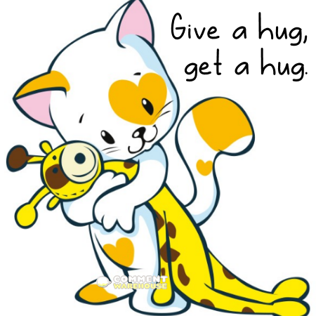Give a hug, get a hug | Hug pics, images, graphics, hug quotes, hug comments.